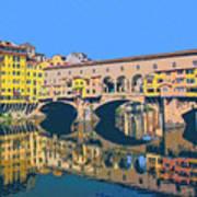 Ponte Vecchio Florence Art Print