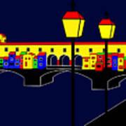 Ponte Vecchio Inspirations Art Print