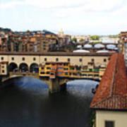 Ponte Vechio Florence Art Print