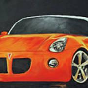 Pontiac Solstice Art Print