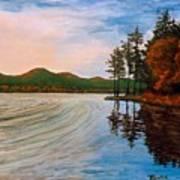 Pontoosuc Lake Pittsfield Ma Art Print