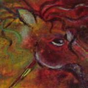 Pony Games Art Print