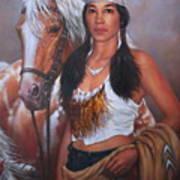 Pony Maiden Art Print