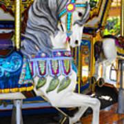 Pony Carousel - Pony Series 5 Art Print