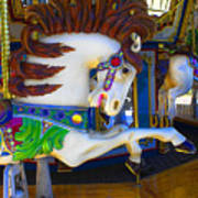 Pony Carousel - Pony Series 6 Art Print