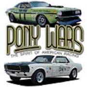 Pony War Classics Art Print