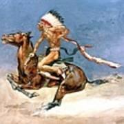 Pony War Dance Art Print