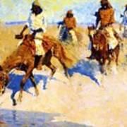 Pool In The Desert 1907 Art Print