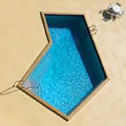 Pool Modern Art Print