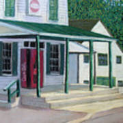 Pooles Store Art Print by Don Perino