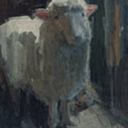 Poor Lamb Art Print