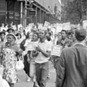 Poor Peoples March, 1968 Art Print