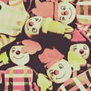 Pop Art Clown Circus Art Print