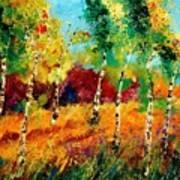 Poplars '459070 Art Print