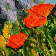Poppies 107 Art Print