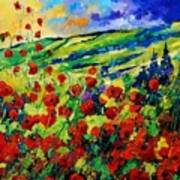 Poppies 78 Art Print