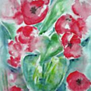 Poppies Celebration Art Print
