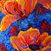 Poppies II Art Print
