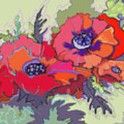 Poppies IIi Art Print