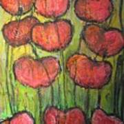 Poppies In Oil Art Print