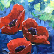 Poppies Splender Art Print