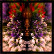 Popping Flowers Art Print