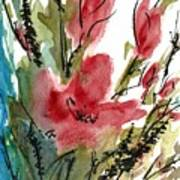 Poppy Blush Art Print