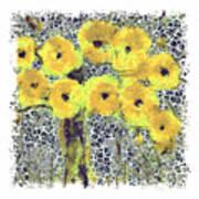 Poppy Bouquet I Pf Art Print