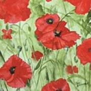 Poppy Field 1 Art Print