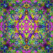 Poppy Opal Yantra Art Print