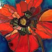Poppy Passion Art Print