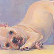 Poppy Puppy Art Print