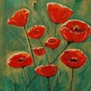 Poppy Surprise Art Print