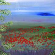 Poppy Valley Print by Jamie Hartley