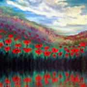 Poppy Wonderland Art Print