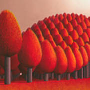 Populus Flucta Art Print