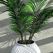 Porch Plant Art Print