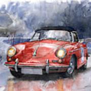 Porsche 356 B Roadster Art Print