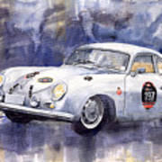 Porsche 356 Coupe Art Print