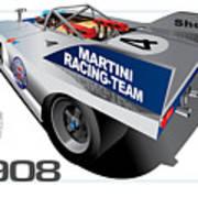 Porsche 908 Art Print