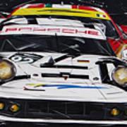 Porsche 911 Rsr Le Mans Art Print