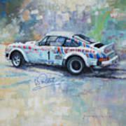 Porsche 911 Sc  Rallye Sanremo 1981 Art Print
