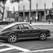 Porsche 911e Art Print