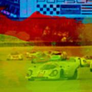 Porsche 917 Racing Art Print