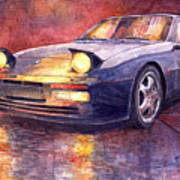 Porsche 944 Turbo Art Print