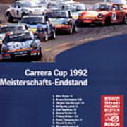 Porsche Carrera Cup 1992 Art Print