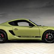 Porsche Cayman R Art Print