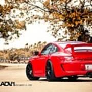Porsche Gt3 Centerlock Adv1 3  Art Print