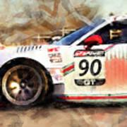 Porsche Gt3 Martini Racing - 01 Art Print