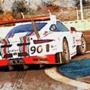 Porsche Gt3 Martini Racing - 02 Art Print
